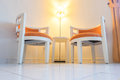 Pair of arm chair in living room for relaxing Royalty Free Stock Photo