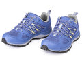 Pair of blue sport shoe Royalty Free Stock Photo
