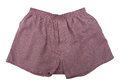 A pair of boxer shorts isolated Royalty Free Stock Photo