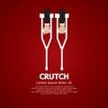Pair Of Crutch.