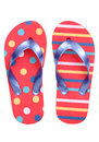 Pair of flip flop sandals Royalty Free Stock Photo