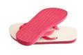 Pair of flip-flops Royalty Free Stock Photo