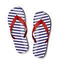 Pair Of Flip-flops. Vector Ill...