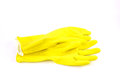 Pair of Kitchen Gloves Royalty Free Stock Photo