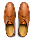 Pair of men's shoes Stock Photo