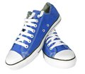 Pair of new sneakers Royalty Free Stock Photo