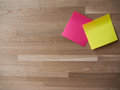 A Pair of Post Its Royalty Free Stock Photo