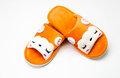 pair of slippers Royalty Free Stock Photo