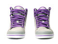 Pair of sneakers Royalty Free Stock Image