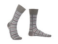 Pair of striped socks Royalty Free Stock Photos