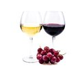 Pair of wine glasses Stock Photography