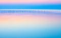 Paisaje marino de calm beautiful Imágenes de archivo libres de regalías