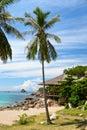 Paisaje tropical de la playa Imagenes de archivo
