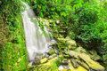 Paisitong waterfall golden bamboo waterfall in phitsanulok thai new natural tourist attraction phisanulok thailand Stock Photography