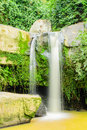 Paisitong waterfall golden bamboo waterfall in phitsanulok thai new natural tourist attraction thailand Stock Photography