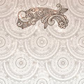 Paisley element on seamless Stock Image