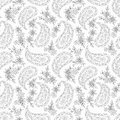 Paisley floral textile pattern seamless can be used for wallpaper fabrics paper craft projects web page background surface Stock Images