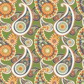 Paisley seamless background beautiful this is file of eps format Royalty Free Stock Image