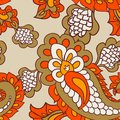 Paisley seamless background beautiful this is file of eps format Stock Photos