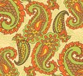 Paisley seamless background beautiful this is file of eps format Royalty Free Stock Photography