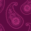 Paisley seamless background beautiful purple Royalty Free Stock Image