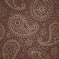 Paisley seamless pattern Stock Photography