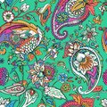 Light modern seamless paisley pattern. Based on the traditions of oriental patterns