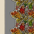 Paisley seamless pattern model for design of gift packs patterns fabric wallpaper web sites etc Stock Images