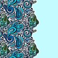 Paisley seamless pattern model for design of gift packs patterns fabric wallpaper web sites etc Royalty Free Stock Photography
