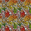 Paisley seamless pattern model for design of gift packs patterns fabric wallpaper web sites etc Stock Image