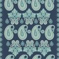 Paisley Vintage Pattern In Ind...