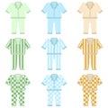 Pajamas icon Royalty Free Stock Photo