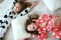 Pajamas party Royalty Free Stock Photo