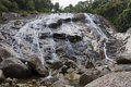 Pajo waterfall at narathiwat province south of thailand Royalty Free Stock Photography