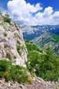 Karst Rock Formations, Paklenica Royalty Free Stock Photo