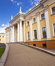 The palace ancient rumyancev and paskevich constructed in xviii century gomel belarus Stock Images