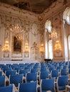 Palace of archbishops kromeriz czech republic the inside the Stock Photos