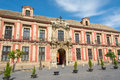 The Palace of the Archbishops in Seville Spain Royalty Free Stock Photo