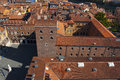 View from Lamberti Tower - Verona Italy Royalty Free Stock Photo