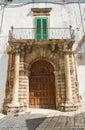 Palace Of Cavaliere Semeraro. ...