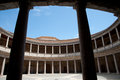 Palace of Charles V (Palacio de Carlos V) Royalty Free Stock Photo