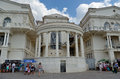 Palace of childhood and adolescence in sevastopol crimea russia Royalty Free Stock Photo