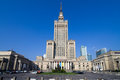 Palace of Culture and Science in Warsaw Stock Image