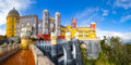 Palace da Pena Royalty Free Stock Photo