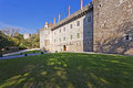 Palace of the duques of braganca guimaraes a medieval and museum in portugal unesco world heritage site Stock Images