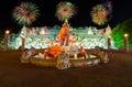 Palace of the elephants in Phuket,Thailand Royalty Free Stock Photo