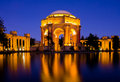 Palace of fine Arts Stock Image