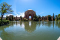 Palace of fine arts Royalty Free Stock Photo