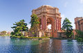 Palace of Fine Arts in San Francisco Stock Image