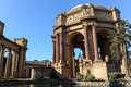 Palace of Fine Arts in San Francisco Stock Photography